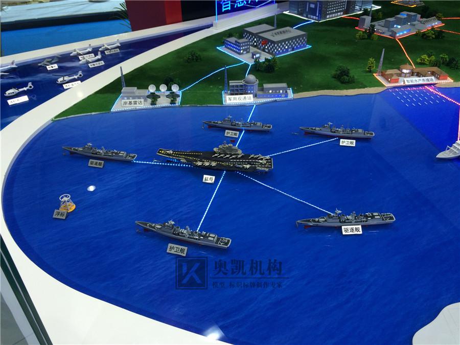 中船集团智慧海洋展示biwei必威